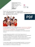 Formazione Finanziata Metodo Feuerstein Per Insegnati CSDAC
