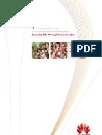 Huawei 2010 CSR Report