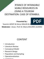 TRM 492.02 TOURISM RESEARCH TOPICS INTERIM PRESENTATION