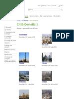 Comune di Milano - Città Gemellate