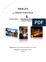 TRM 472.01 BUSINESS STRATEGY PROJECT