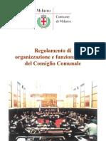 Regolamento Di Organizzazione e Di Funzionamento Consiglio Comunale