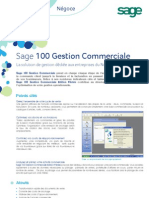 Sage100 Gestion Commerciale Negoce
