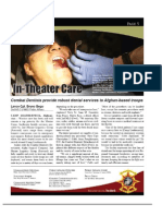 Dental Docs in 17 June 11 Issue of the Warrior's Log