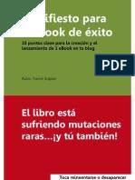 Manifiesto para un eBook de éxito