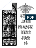 6.16 Saint John Francis Regis