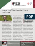 L'avenir de la TVA détermine l'avenir de l'Europe, Infor FEB n° 21, 17 juin 2011