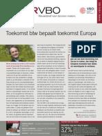 Toekomst btw bepaalt toekomst Europa, Infor VBO nr. 21, 17 juni 2011