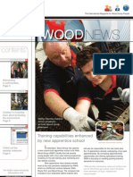 Wood News Layout