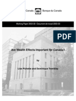 Are Wealth Effects Important for Canada