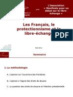 Présentation IFOP du sondage Les français et le protectionnisme
