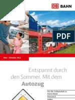 Db Autozug Aktueller Sommerkatalog