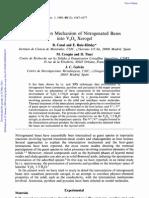 Inter Cal at Ion Mechanism of Nitrogen at Ed Bases Into V2O5 Xerogel - JFaradaTrans I
