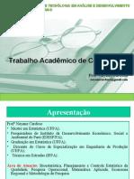 Modelo de TCC - Trabalho Acadêmico de Conclusão - IFPA