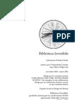 Relazione Preliminare Biblioteca Invisibile - tesi II livello design dei sistemi