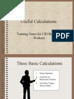 Radioactivity Calculations