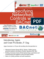 NFMT 11 Specifying Networked Controls With BACnet