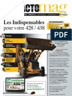 Tractopelle de type Caterpillar 438 et 428