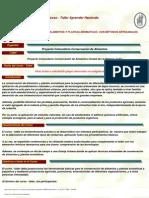 Curso Internacional de Conservacion de Alimentos