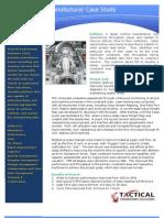 Steam Turbine Manufacturer Case Study
