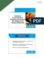 RIESGOS ELECTRICOS y Riesgos Dervados Del Manejo de Hidrocarburos [Modo de ad