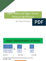 Eigen Value and Eigen Vector