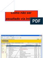 Roubo de Senhas (on-Line)