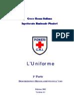Regolamento d'uso dell'uniforme dei Pionieri (dicembre 2002)