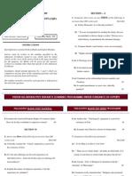 Philosophy Mains 2009 Paper II Vision Ias