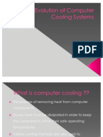 Evolution of Computer Cooling Systems FINAL