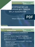 Uso Eficaz de La Multimedia en La Educacion
