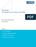 Wireshark User Guide for Vntelecom