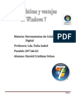 Caracteristicas y Ventajas de Windows 7