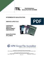 The ITIL Intermediate Qualification Continual Service Improvement Certificate v4.0