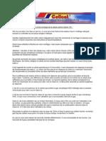 Instructions de Mise en Service Et de Montage de La Cellule sA Che Cellcat 12V 1
