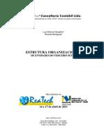 ESTRUTURA ORGANIZACIONAL PARA ORGANIZAÇÕES DO TERCEIRO SETOR14 junhoo 11