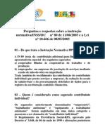 13368723 Perguntas e Respostas Sobre a InInSSDC 89 e a Lei 1066603