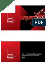 AMD  Fusion Summit Presentation