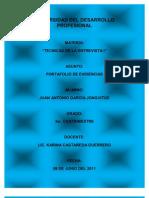Port a Folio de Tecnicas de Entrevista i
