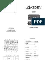 FMX-20InstructionManual
