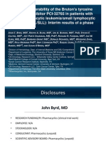 Pharmacyclics ASCO2011 Trial) Final