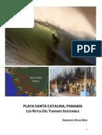 PLAYA SANTA CATALINA, PANAMA, LOS RETOS DEL TURISMO SOSTENIBLE