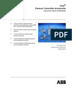 Pressure Transmitter Manifold