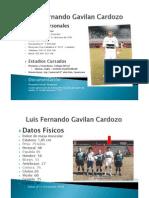 Luis Fernando Gavilan Cardozo