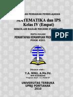 Matematika dan IPS Kelas 4 SD