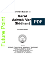 Saral Ashtakvarga Siddhanta AKBansal