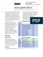The North Dakota Legislative Review