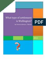 Geography Settlement
