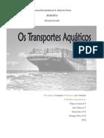 Geografia - Estudo de Caso-Aquaticos