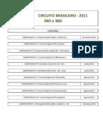 Modelo Circuito 2011 - 2BD e 3BD